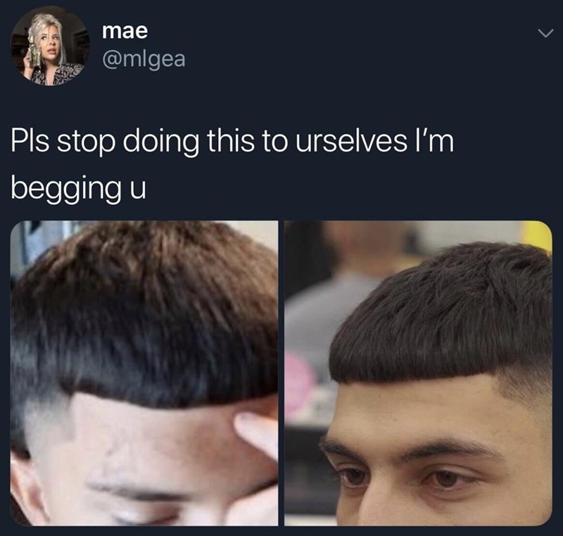 Hair - mae @mlgea Pls stop doing this to urselves I'm begging u
