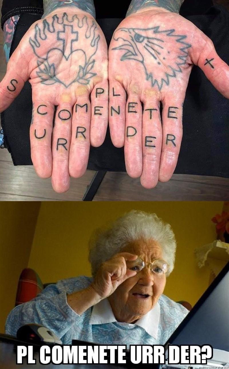 Tattoo - PL ENETE R R ER PL COMENETE URR.DER? erator Σα Ο