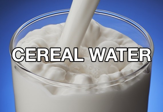 Food - CEREAL WATER