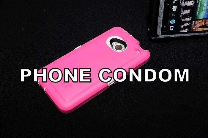 Mobile phone case - PHONE CONDOM row