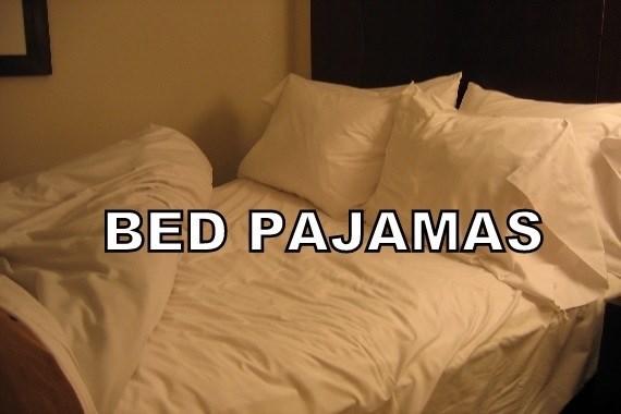 Bed sheet - BED PAJAMAS