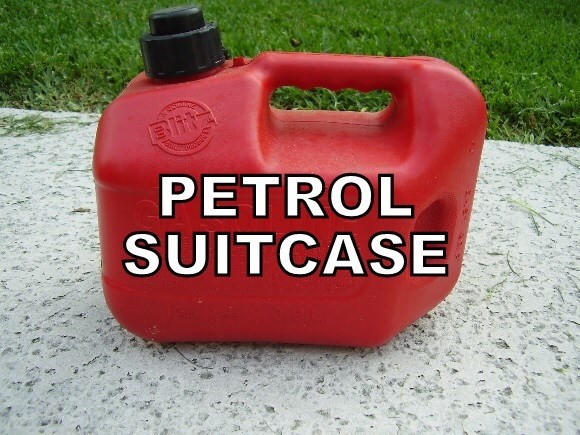 Red - Blit PETROL SUITCASE