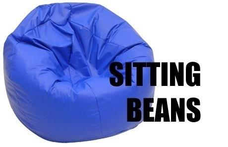 Blue - SITTING BEANS