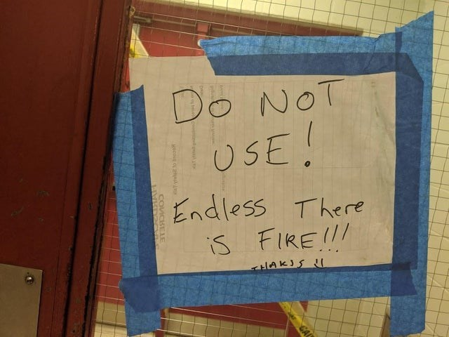 Text - Do NOT USE Endless There s FIREI/ CAL COVICSEE