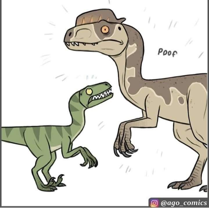 Dinosaur - Poop @ago_comics