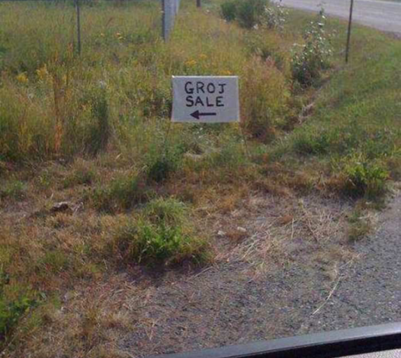 fail - Land lot - GROJ SALE
