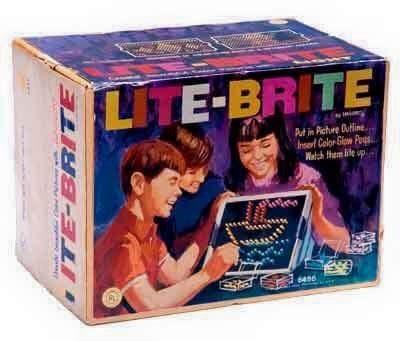 nostalgia - Product - LITE-BRITE Aut in Piche Duine l Calor Gw P Welchthmlieup FIBE3E