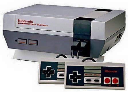 nostalgia - Electronic device - Nintendo enTERTRNerr svSTEm nnd SEc