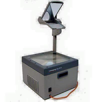 nostalgia - Overhead projector - Lirtegang o 20