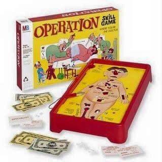 nostalgia - Games - MB OPERATION SKILL GAME er oe NOCON