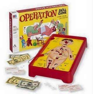 70s 80s nostalgia - Games - MB OPERATION SKILL GAME er oe NOCON
