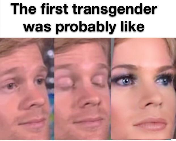 Drew Scanlon - Face - The first transgender was probably like
