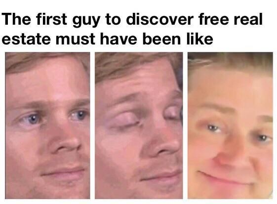Drew Scanlon - Face - The first guy to discover free real estate must have been like