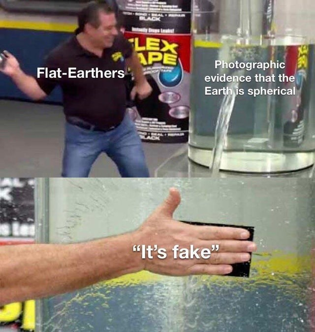 "Water - HAL BLACK Least LEX APE Photographic evidence that the Earth is spherical Flat-Earthers ""It's fake"" 99"