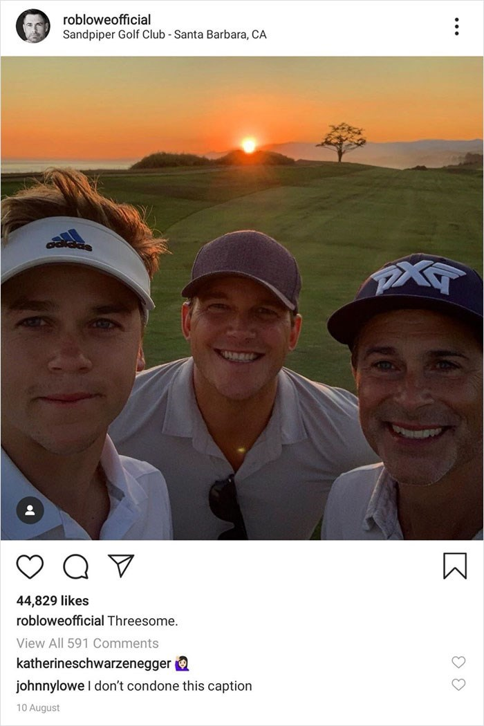 trolling - Sky - robloweofficial Sandpiper Golf Club Santa Barbara, CA PAT 44,829 likes robloweofficial Threesome. View All 591 Comments katherineschwarzenegger johnnylowe I don't condone this caption 10 August K
