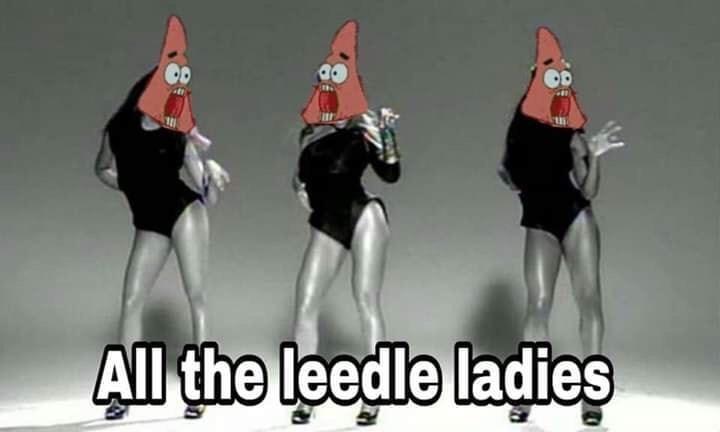 Font - All the leedle ladies