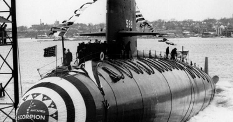 Submarine - 589 ANTARES SCORPION