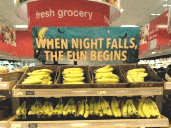 target - Grocery store - fresh grocery WHEN NIGHT FALLS THE EUN BEGINS