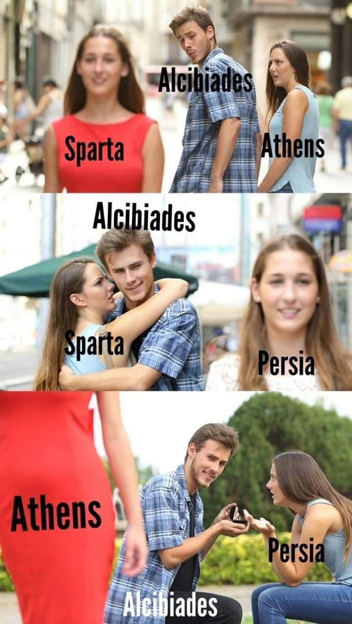 Facial expression - Alcibiades Athens Sparta Alcibiades Sparta Persia Athens Persia Aleibiades