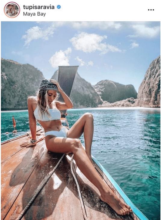 instagram - Photograph - tupisaravia Maya Bay