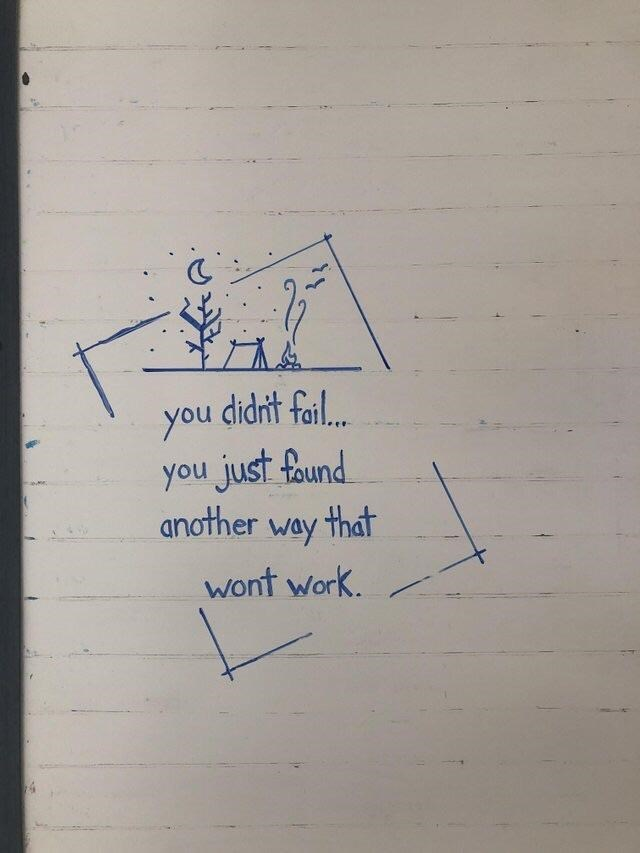 inspirational - Text - you cidn't foil you just found another way that wont work.