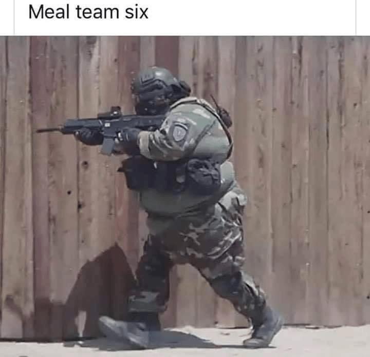 Gun - Meal team six