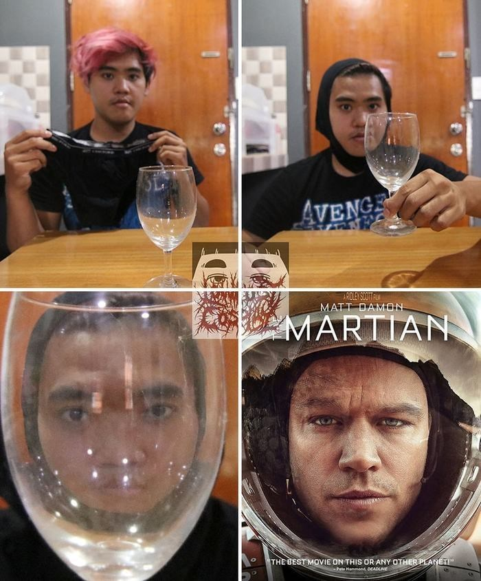 """cosplay - Alcohol - AVENGE RELEY SOTFU MATT DAMON MARTIAN THE BEST MOVIE ON THIS OR ANY OTHER PLANET!"""" Pete Hammond DEADUINE"""