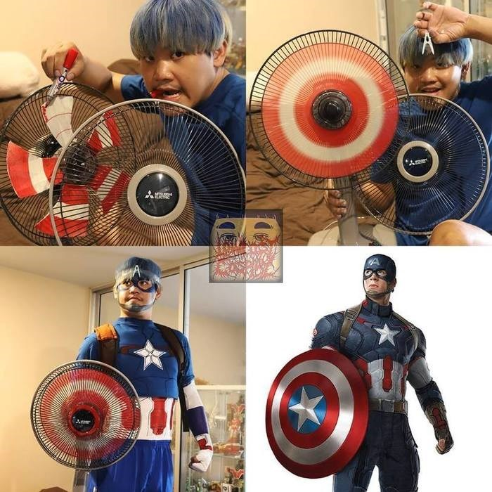 cosplay - Captain america - Am