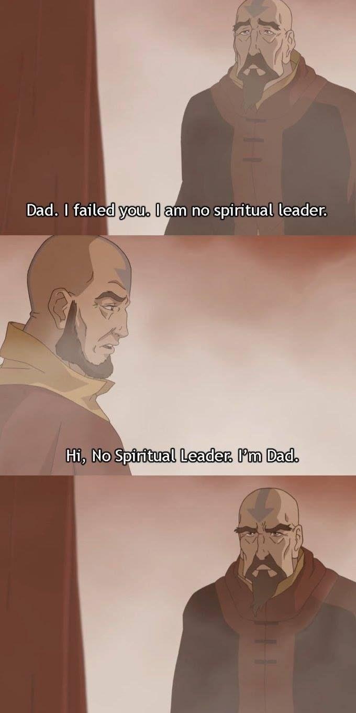 Text - Dad. I failed you. I am no spiritual leader. Hi, No Spiritual Leader Pm Dad.