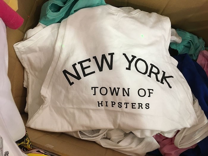 translation - White - NEW YORK TOWN OF HIPSTERS