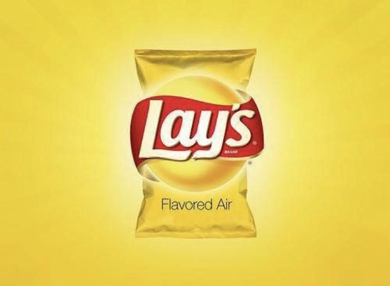 marketing - Junk food - Lays sRAND Flavored Air