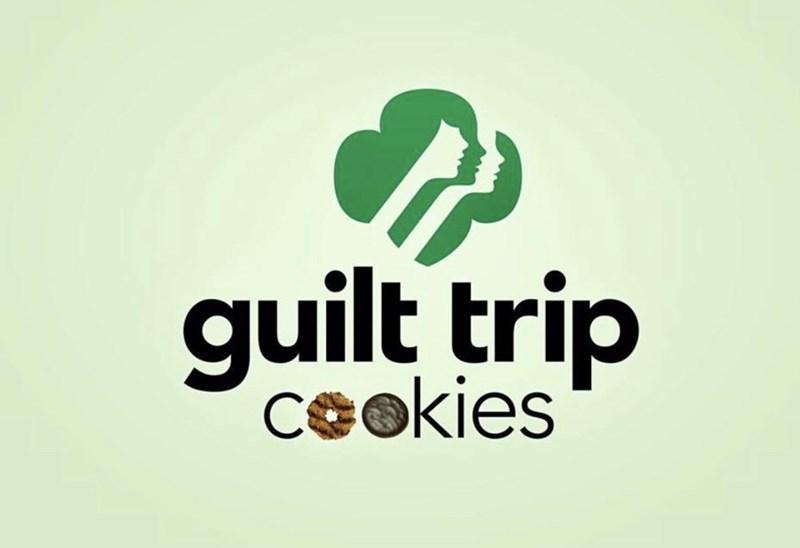 marketing - Logo - guilt trip Ceokies