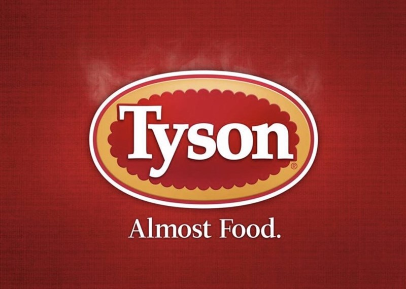 marketing - Logo - Tyson Almost Food.
