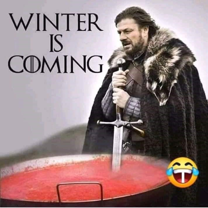 slavic meme - Album cover - WINTER IS COMING