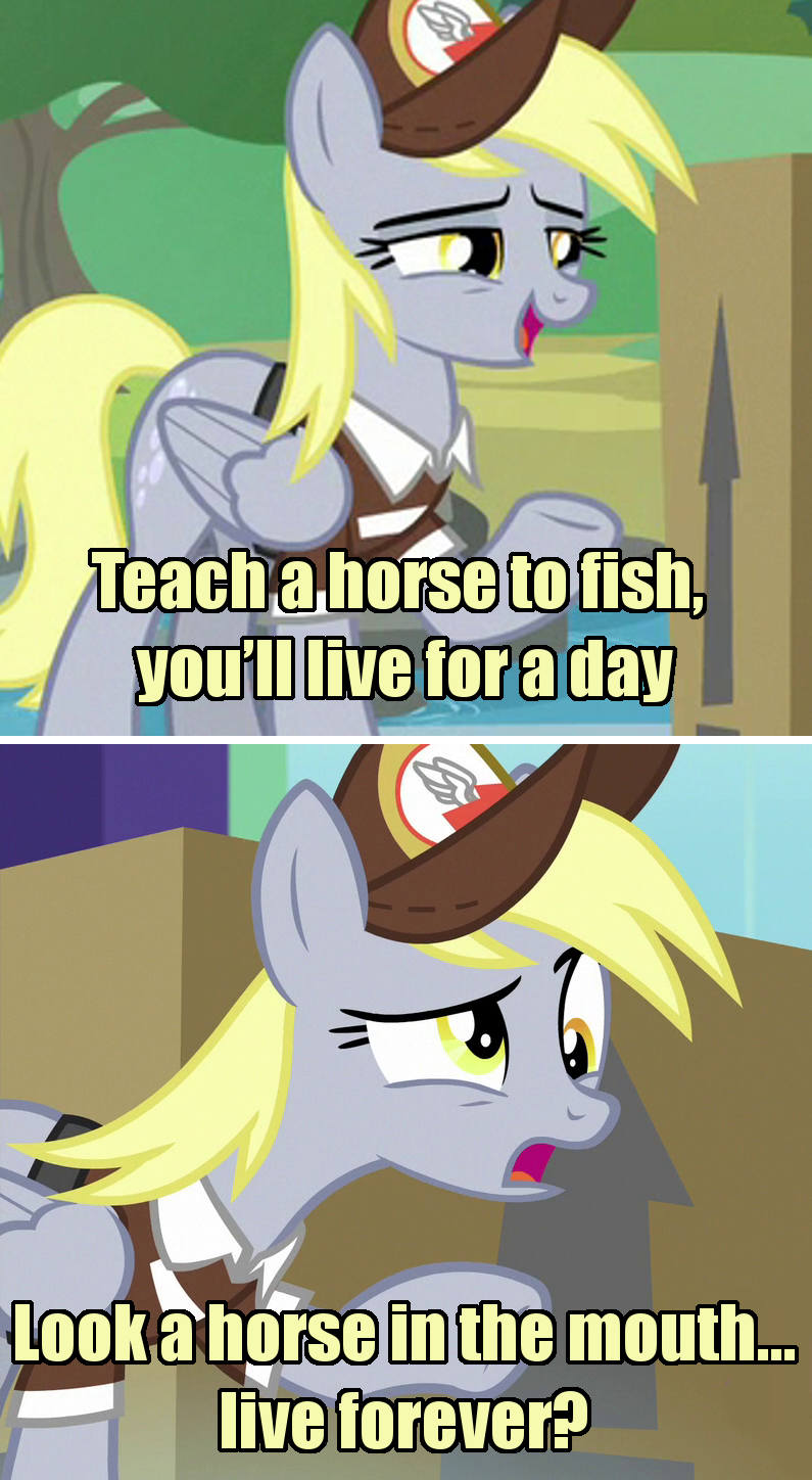 incorrect my little pony quotes derpy hooves screencap the point of no return - 9353925888