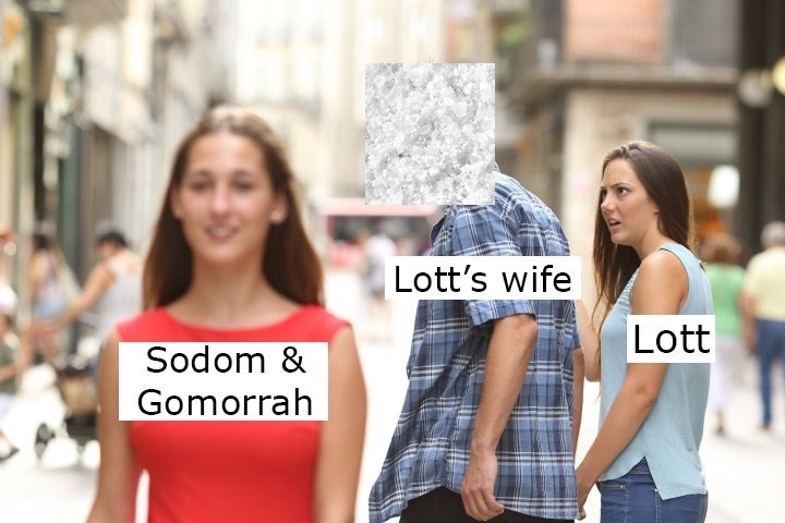 People - Lott's wife Lott Sodom & Gomorrah