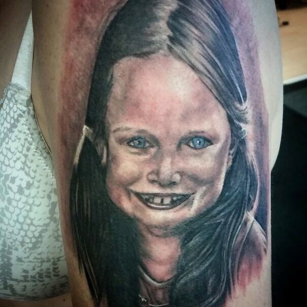 cringe tattoo - Face