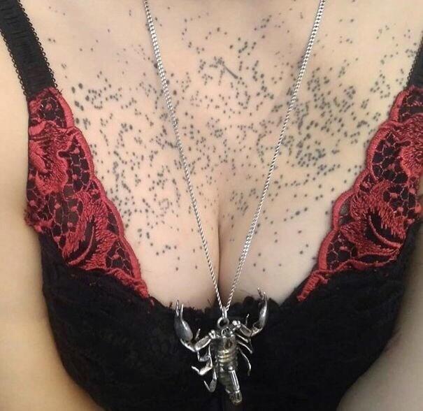 cringe tattoo - Brassiere