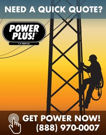 temp power pole - Home