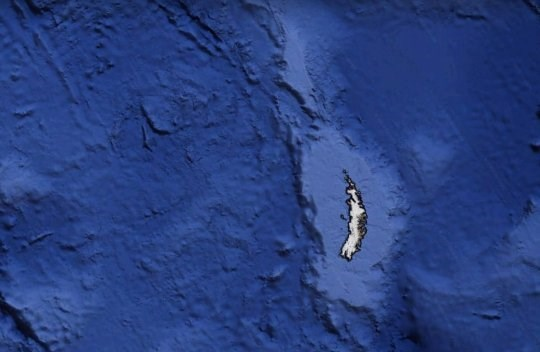 picture South Georgia Island from google maps