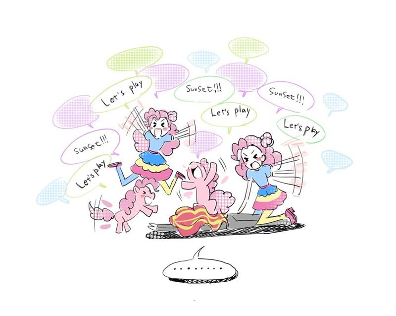 equestria girls pinkie pie 5mmumm5 sunset shimmer - 9355120640