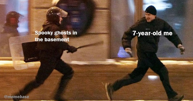 Funny dank memes entitled 'Protester Running From Riot Police'