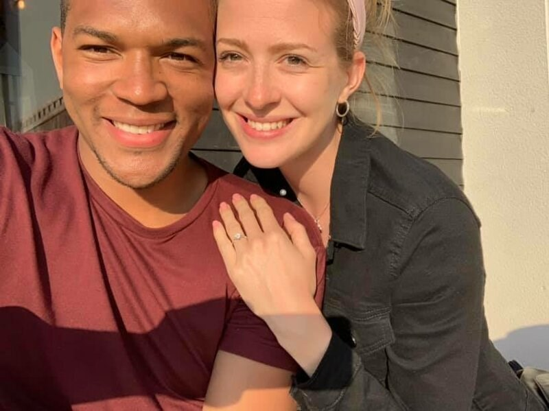 secret engagement ring - Face