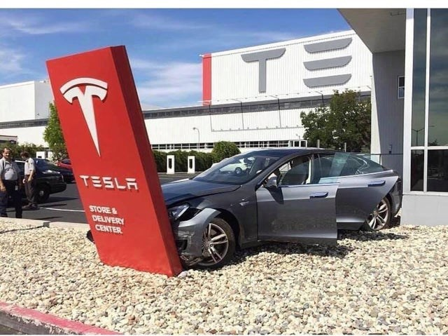 Land vehicle - ITE TESLA STORE& DELIVERY CENTER