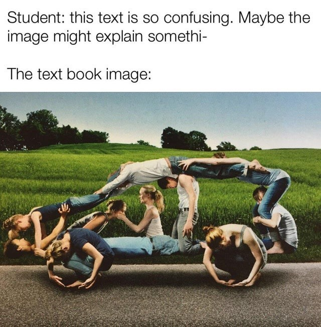 Grass - Student: this text is so confusing. Maybe the image might explain somethi- The text book image: