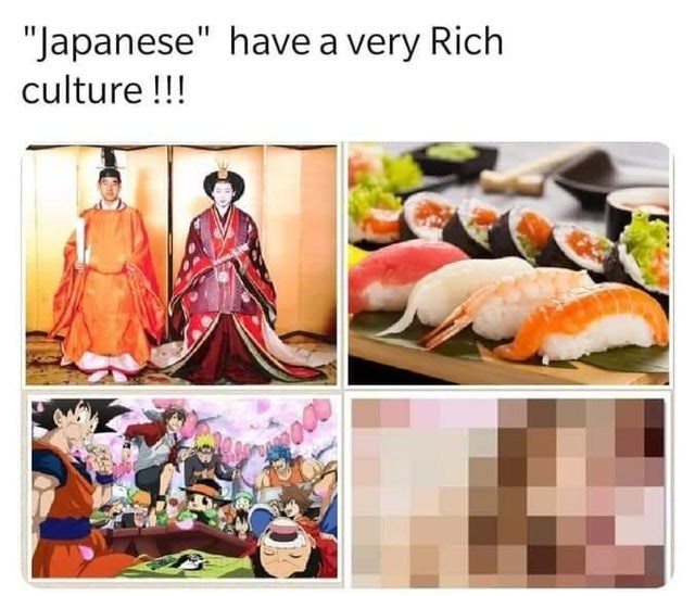 """Comfort food - """"Japanese"""" have a very Rich culture!!!"""