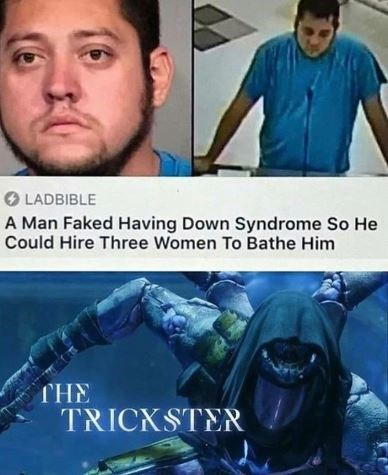 Movie - LADBIBLE A Man Faked Having Down Syndrome So He Could Hire Three Women To Bathe Him THE TRICKSTER