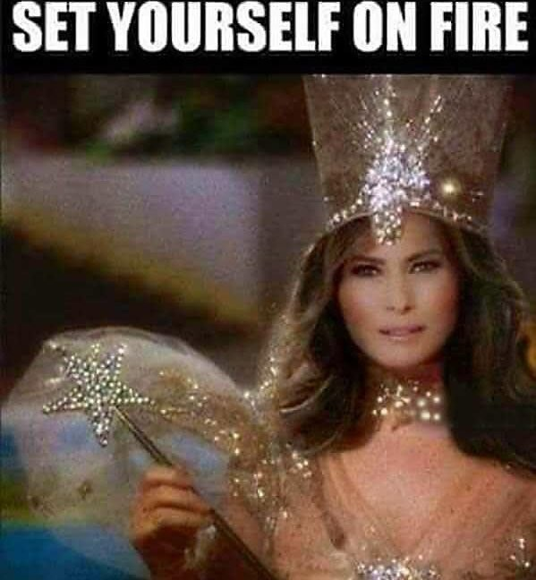 cropped boomer meme - Headpiece - SET YOURSELF ON FIRE