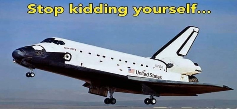 cropped boomer meme - Aviation - Stop kidding yourself... ONLORT United States