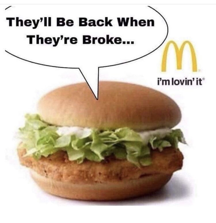 Dish - They'll Be Back When They're Broke... i'm lovin' it
